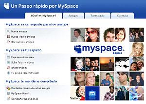 Los adolescentes exhiben algunos de sus comportamientos de riesgo en 'MySpace'