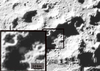 Grandes cantidades de agua en la Luna