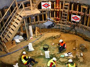Fósiles bajo el metro de Madrid